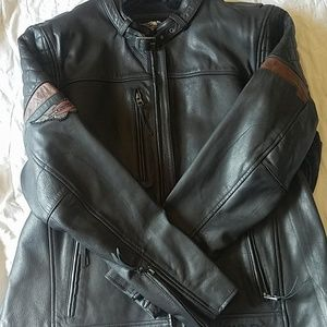 EUC Harley-Davidson® Men's Varick Leather Jacket